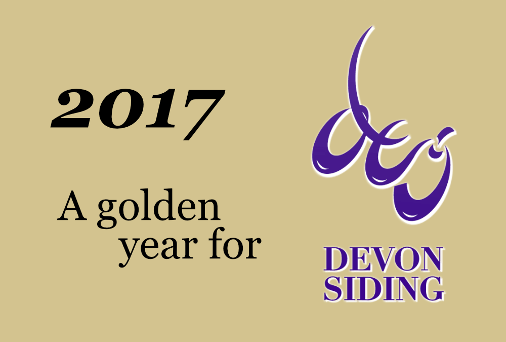 2017 - A golden year for Devon Siding