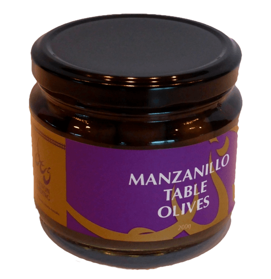 Jar of Devon Siding Manzanillo Olives